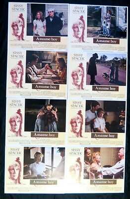 "SISSY SPACEK ""RAGGEDY MAN"" MINT 11 x 14 LOBBY CARD SET LITHO IN USA (1-8)/1981"