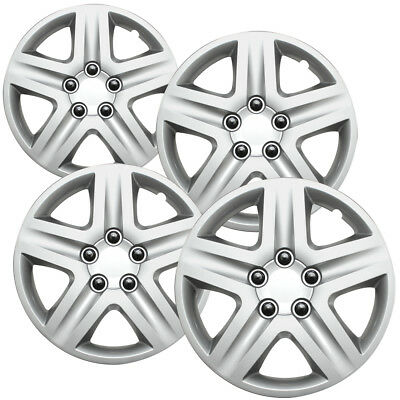 4 Pc Set New 16 Hub Cap Silver Wheel Cover Fits Volkswagen Jetta