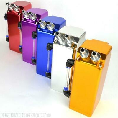 Aluminum Square Oil Catch Tank (Choice Of Colour)