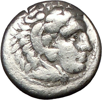 ALEXANDER III the GREAT 323BC Miletos  ZEUS Ancient Silver Greek Coin  i26107