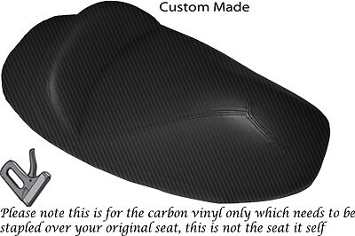 BLACK AUTOMOTIVE VINYL CUSTOM FOR TRIUMPH SPRINT 900 93-98 DUAL SEAT COVER ONLY