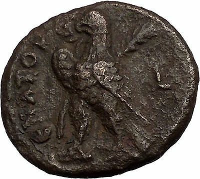GALLIENUS Son of Valerian I Alexandria in Egypt Eagle Ancient Roman Coin i36287