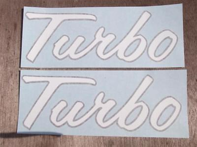 International/farmall Turbo Decals. Vinyl. Xlnt Quality