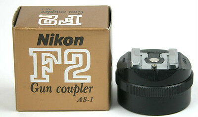 Nikon AS-1 Flash Unit Hot Shoe Coupler 10/10 For F F2 F2S F2SB F2A F2AS  AS1