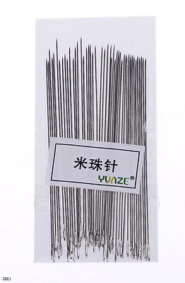 45pcs SEWING BEADING NEEDLES THREADING WIRE CRAFTS JEWELRY FINDINGS SIZE CHOOSE