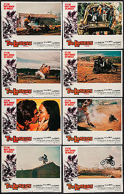 THE LOSERS/MOTORCYCLE GANG lobby card set WILLIAM SMITH 11x14 movie posters 1970