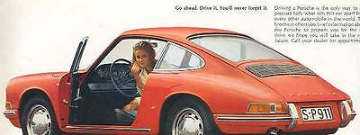 1967 Porsche 911 912 911S Color Brochure mw7012-G6XC4V