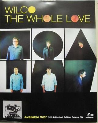 "Wilco 2011 The Whole Love ""group"" Promotional Poster ~New~!!"