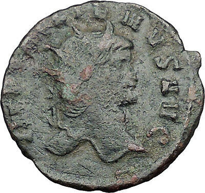 GALLIENUS son of Valerian I Authentic  Ancient  Roman Coin Antelope  i32660