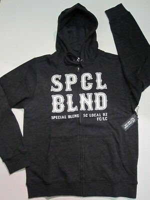 SPECIAL BLEND snowboard 2014 FIRST CHAIR ZIP HOODIE blackout LRG ~NEW W/tags~!