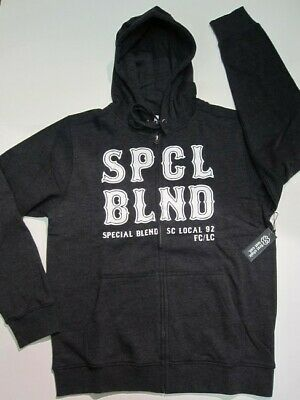 SPECIAL BLEND snowboard 2014 FIRST CHAIR ZIP HOODIE blackout MED ~NEW W/tags~!