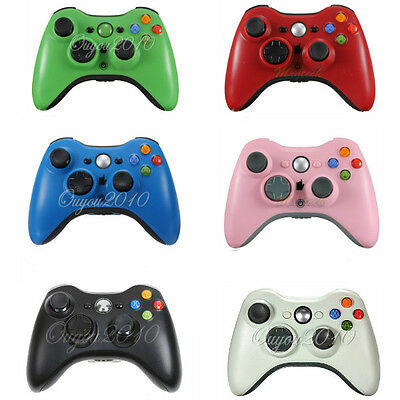 6 Colours Wireless Game Pad Gamepad Console Controller For Microsoft Xbox 360