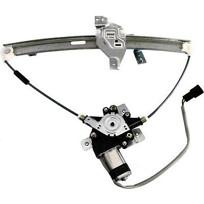 New Window Regulator Glass Front Driver Left Side with motor Chevy Power LH Hand