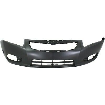 Front Bumper Cover For 2011-2014 Chevy Cruze w/ fog lamp holes Primed
