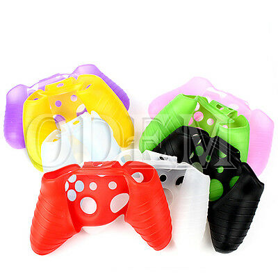 Silicone Rubber Gel Skin Soft Case Cover For Microsoft Xbox One controller