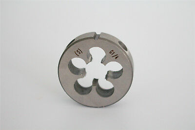 """1pcs Wearable Alloy Steel G Series Cylindrical Pipe Threading Dies G1/4""""-19"""""""