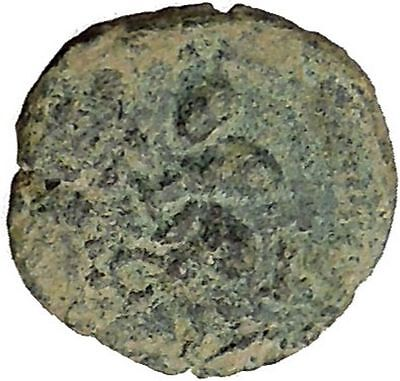 BERYTOS in PHOENICIA 218AD Satyr Marsyas Galley Ship   Ancient Greek Coin i36681
