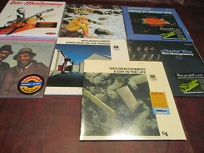 Wes Montgomery Collection 7 Titles Remastered 180 Gram Limited Audiophile Lp