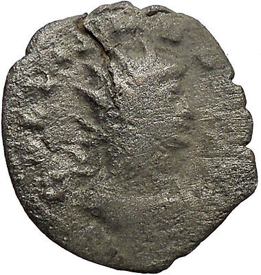 GALLIENUS son of Valerian I  Silver  Ancient Roman Coin Security Cult  i35321