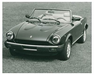 1984 Fiat Pininfarina Spider Europa Automobile Factory Photo ch3750