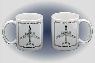 A-3 Skywarrior Coffee Mug - Dishwasher and Microwave Safe