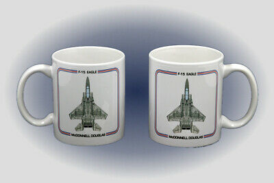 F-15 Eagle Coffee Mug - Dishwasher and Microwave Safe