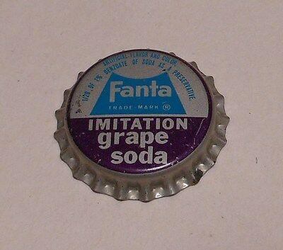 "Vintage Fanta ""Imitation Grape""..cork..unused..Soda Bottle Cap"