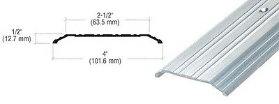 "Aluminum 4"" x 1/2"" Saddle Threshold - 73"" Long"
