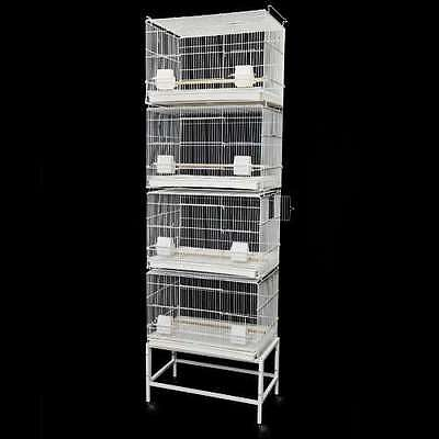 604 CANARY FINCH BREEDER CAGE 16X24X17 bird cages toy lovebird breeding goulian