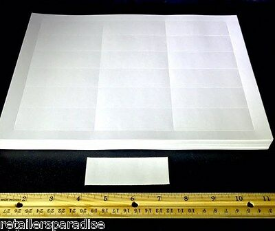 100 Sign Inserts For Cooler/refrigerator/freezer Wire Rack & Shelf Label Holders