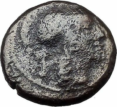 Athens in Attica Greece 166BC RARE Ancient Greek Coin Athena Zeus Cult  i36965