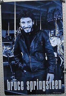Bruce Springsteen 1998 Tracks B&W promotional poster New old stock Mint Cond