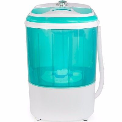 Electric Mini Portable Compact Washer Washing Machine 12Gal Capacity 110V