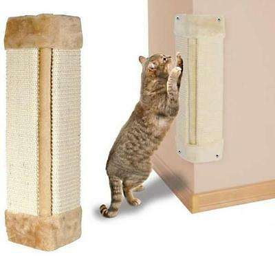 Me & My Pet Cat/kitten Sisal Corner Wall Big Scratching/scratcher Post/mat/board