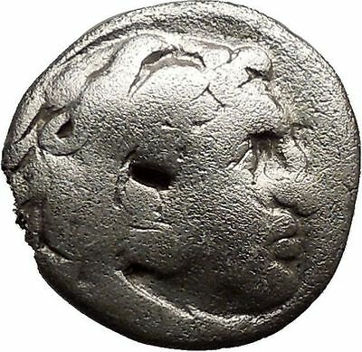 ALEXANDER III the Great 323BC Ancient Silver Greek Coin ZEUS Cult   i21833