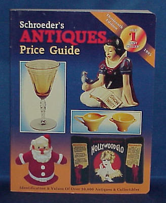 Schroeder's Antiques Price Guide 1995