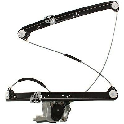 Power Window Regulator For 2000-2006 BMW X5 Front, Passenger Side With Motor