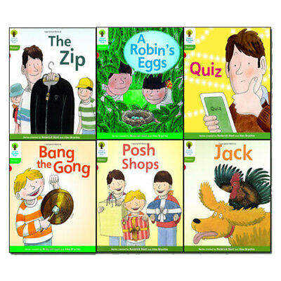 Oxford Reading Tree: Level 2: Floppy's Phonics Fiction Collection 6 Book Set