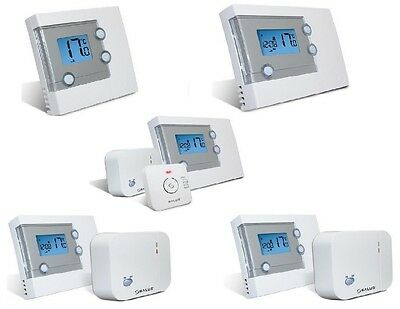 Salus Central Heating Thermostats - Wireless & Hardwired - Various Models - BNIB