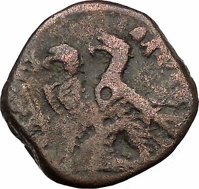 Ptolemy VI Philometor King of Egypt 170BC Ancient Greek Coin Two Eagles i36841