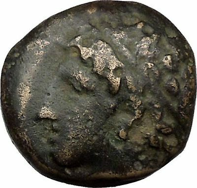 Philip II Alexander the Great Dad OLYMPIC GAMES Ancient Greek Coin Horse i37147