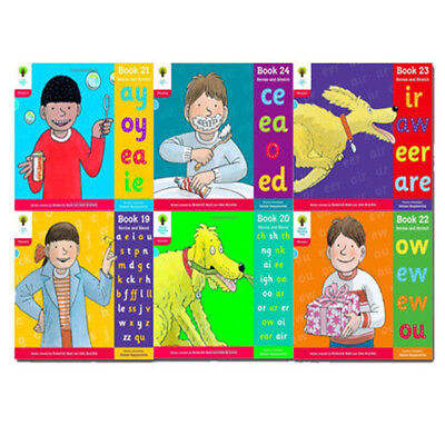 Oxford Reading Tree Level 4 Collection 6 Book Set Floppy Phonics,Sound & Letter