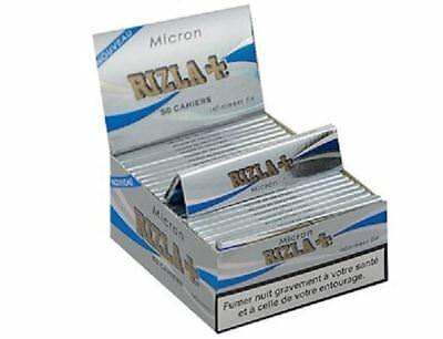Rizla Silver Micron King Size Thin Cigarette Rolling Papers Genuine