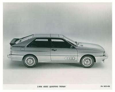 1984 Audi Quattro Turbo Automobile Photo Poster zch3700