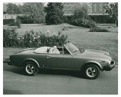 1979 Fiat Sport Spider Pininfarina Automobile Photo Poster zch3740