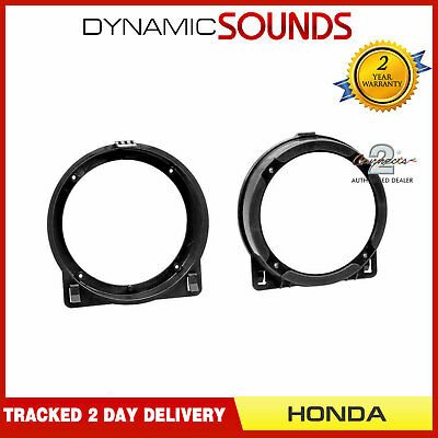 CT25HD03 Front Speaker Adapter 130MM For Honda Civic 2001-2006