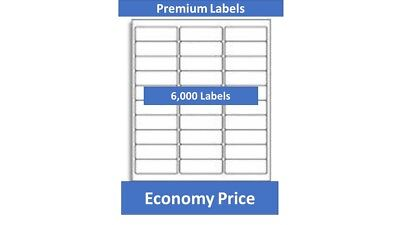 6000 Laser/Ink Jet Labels 30up Address Compatible with # A5260 Templates