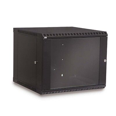 Kendall Howard 9U Fixed Wall Mount Rack Cabinet Made in the USA 3140-3-001-09