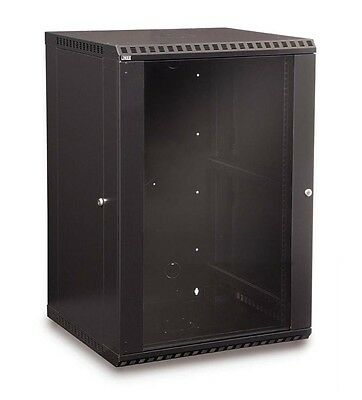 Kendall Howard 18U Fixed Wall Mount Rack Cabinet Made in the USA 3140-3-001-18