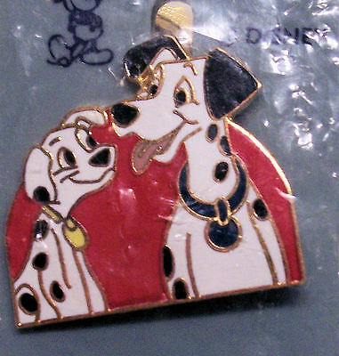 PONGO & PUPPY DISNEY PIN LATE 1980s 1st RELEASE